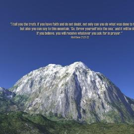 Matthew 21:21-22 Wallpaper