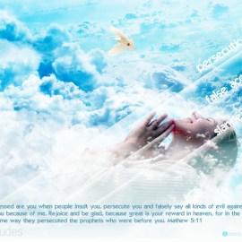 Matthew 5:11 Wallpaper