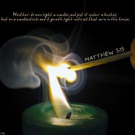 Matthew 5:15 Wallpaper