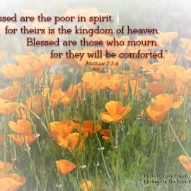 Matthew 5:3-4 Wallpaper