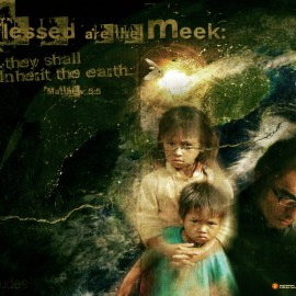 Matthew 5:5 Wallpaper