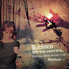 Matthew 5:7 Wallpaper