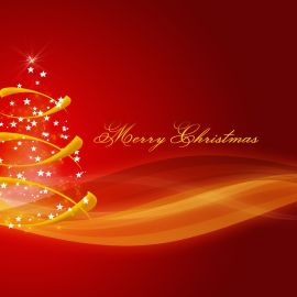 Merry Christmas – Lights Wallpaper