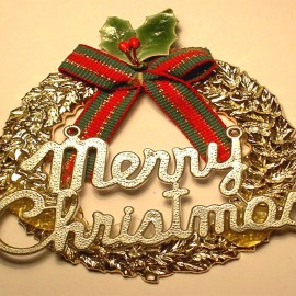 Merry Christmas – Ornament Wallpaper