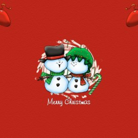 Merry Christmas – Snow Wallpaper