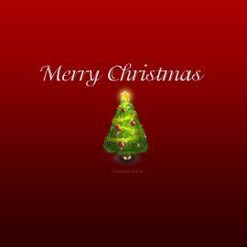 Merry Christmas – Tree Wallpaper