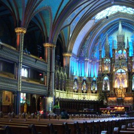 Montreal Basilica Wallpaper