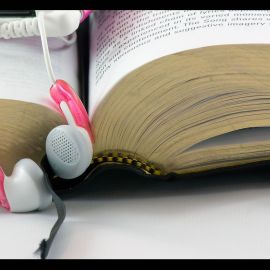 Music and Bible Wallpaper
