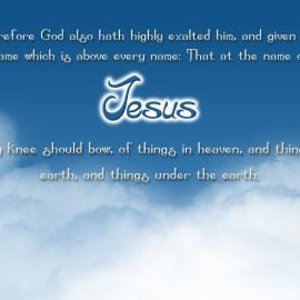Name of Jesus Wallpaper