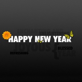 New Year – Happy! Wallpaper