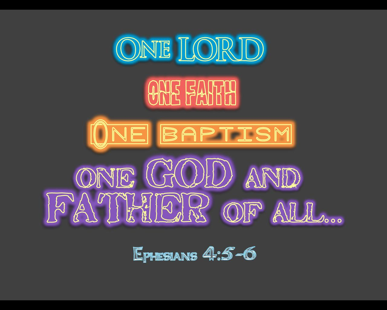 How To Make Wallpaper Fit On Iphone 6 One Ephesians 4 5 6 Neon Wallpaper Christian Wallpapers