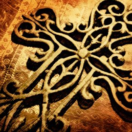 Ornate Cross Wallpaper