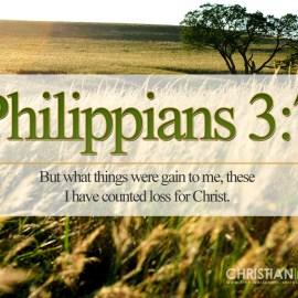 Philippians 3:7 Wallpaper