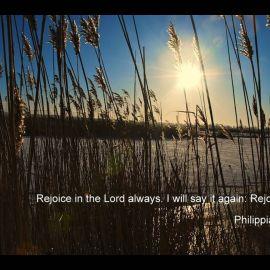 Philippians 4:4 Wallpaper