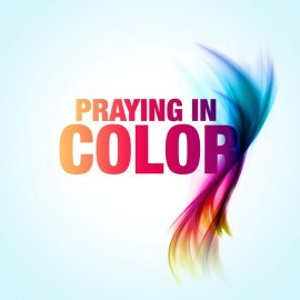 Praying in Color Wallpaper