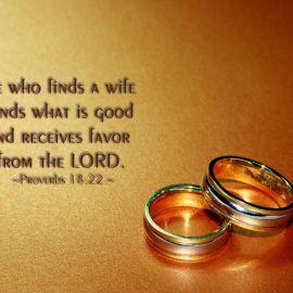 Proverbs 18:22 Wallpaper