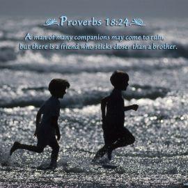 Proverbs 18:24 Wallpaper