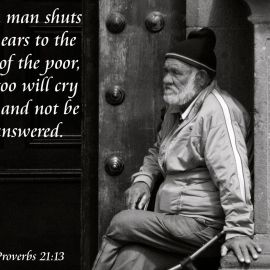 Proverbs 21:13 Wallpaper