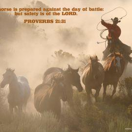 Proverbs 21:31 Wallpaper