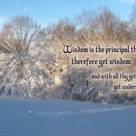 Proverbs 4:7 Wallpaper