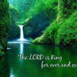 Psalm 10:16a Wallpaper