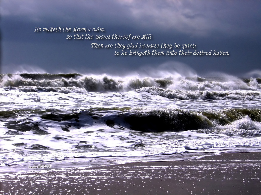How To Put A Gif As Your Wallpaper On Iphone Psalm 107 29 30 Wallpaper Christian Wallpapers And