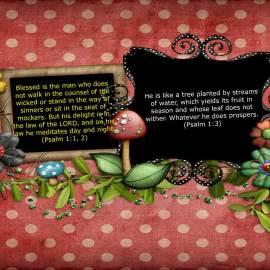 Psalm 1:1, 2, 3 Wallpaper