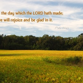 Psalm 118:24 Wallpaper