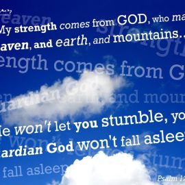 psalm 121 Wallpaper