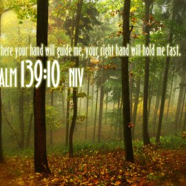 Psalm 139:10 Wallpaper