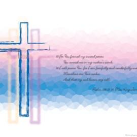 Psalm 139:13-14 Wallpaper