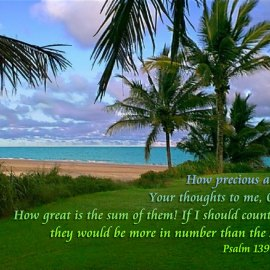 Psalm 139:17-18 Wallpaper