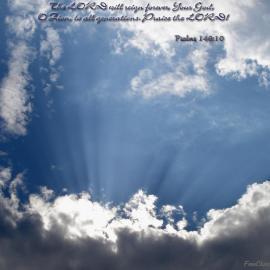 Psalm 146:10 Wallpaper
