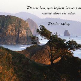 Psalm 148:4 Wallpaper