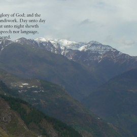 Psalm 19:1-3 Wallpaper