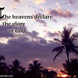 Psalm 19:1 Wallpaper