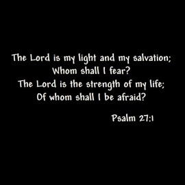 Psalm 27: 1 Wallpaper