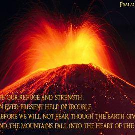 Psalm 46:1-2 Wallpaper