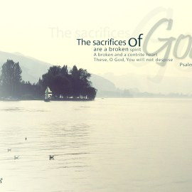 Psalm 51:17 Wallpaper
