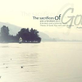 Psalm 51:17 Wallpaper