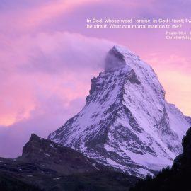 Psalm 56:4 Wallpaper