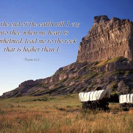 Psalm 61:2 Wallpaper