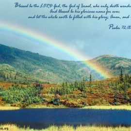 Psalm 72:18-19 Wallpaper