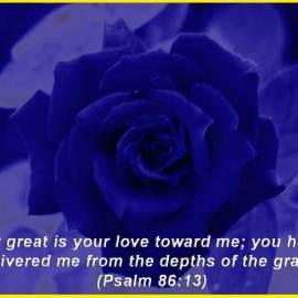 Psalm 86:13 Wallpaper