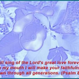 Psalm 89:1 Wallpaper