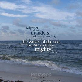 Psalm 93:4 Wallpaper