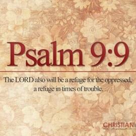 Psalm 9:9 Wallpaper