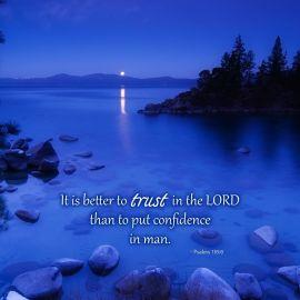Psalms 118:8 Wallpaper