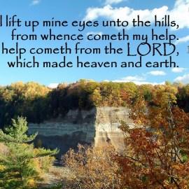 Psalms 121:1-2 Wallpaper
