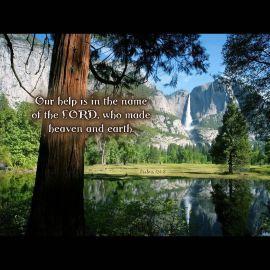Psalms 124:8 Wallpaper